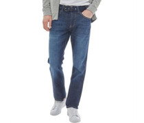 Mens Boncraft Straight Fit Jeans Dark Wash