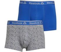 Reece Zwei Pack Boxershorts Kobaltblau