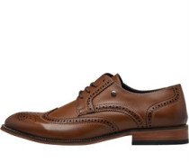 Brogue Schuhe Hellbraun
