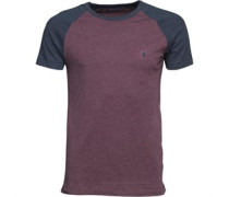 Raglan T-Shirt Burgundermeliert