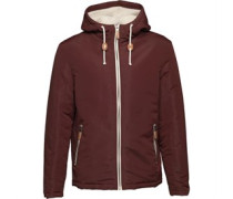 Skagen Harrington Jacke Burgunder