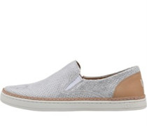 Womens Adley Perforated Stardust Shoes Silver