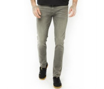 Skinny Jeans Verblasstes Grau