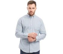 Karo Hemd mit langem Arm Blau