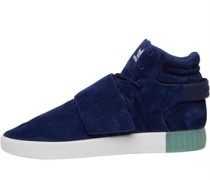 Tubular Invader Strap Sneakers Navy