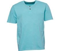 Acid Washed Slub T-Shirt Minzgrün