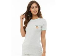 Peach T-Shirt Graumeliert