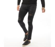 Leyland Skinny Jeans Schwarz