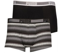 Worldhood Stripe Boxershorts in lose Passform
