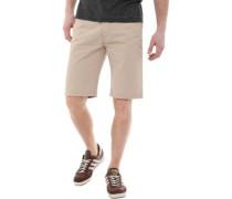 Chino Shorts Steingrau