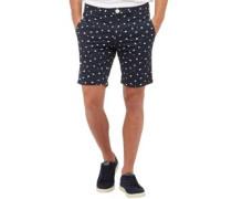 Ditzy Print Shorts Navy