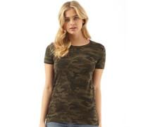 Womens Dis T-Shirt Camo