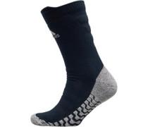 Unisex Alphaskin Traxion Tech Fit Cushion Basketball Socken Blau