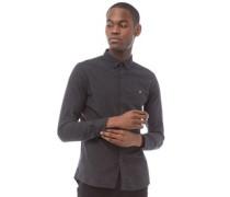 Steen Hemd mit Button-Down Kragen Verblasstes