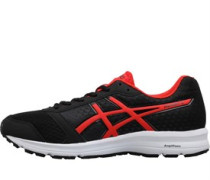 Mens Patriot 9 Neutral Running Shoes Black/Fiery Red/White