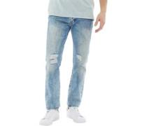 501 Original Fit Jeans mit geradem Bein gebleicht