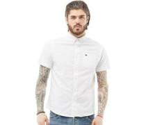 Senatec Hemd mit kurzem Arm Weiß
