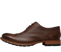 Guri 8 Brogue Schuhe Dunkelbraun