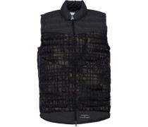 x White Mountaineering Mens Padded Gilet Multicolour