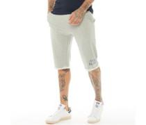 Spiral Jersey Shorts Grau