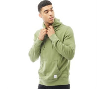 Mens Essentials Luxe Hoody Sap Green