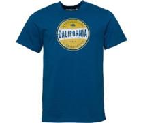 T-Shirt Blaugrün