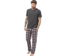 Loungewear-Set Anthrazitmeliert