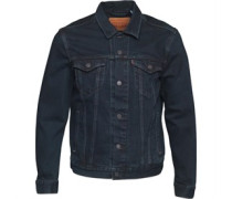 The Trucker Jeansjacke Dunkelblau