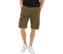 Ancoats Cargo Shorts Olivengrün