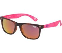 Supergami Wayfarer Sonnenbrille Neonrosa