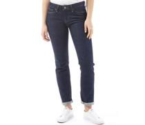 714 Jeans mit geradem Bein Dunkelblau