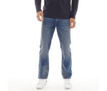 B71 Jeans mit geradem Bein Verblasstes