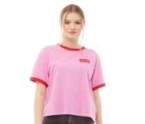 Graphic Ringer J.V. T-Shirt Rosa