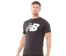 Stacked Logo Grafik T-Shirt
