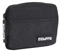 Reißverschluss Brieftasche Schwarz