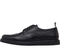 Portwood Leder Schuhe Schwarz