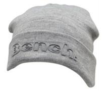 Bruso Beanie Mütze Graumeliert