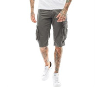 Mens Cargo Shorts Grey
