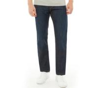 504 Jeans mit geradem Bein Dunkel