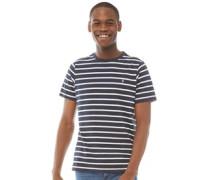 Alport Mit Streifen T-Shirt Blau
