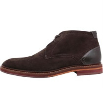 Mens Azzlan Suede Boots Brown