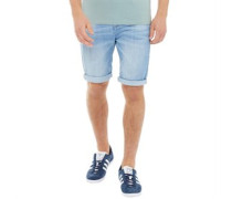 Treyforth Denim Shorts Hellblau