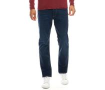 Weave CR Jeans mit geradem Bein Dunkel