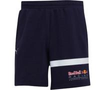 Red Bull Racing Logo Jersey Shorts Navy