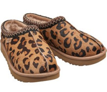 Tasman Leopard Hausschuhe Leo-Druck