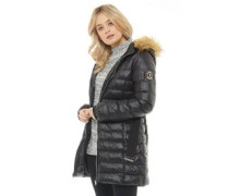Everest Puffajacke Schwarz