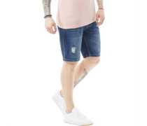 Wills Denim Shorts Blau