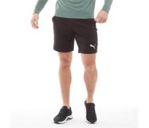 Active Gewebte Shorts Schwarz