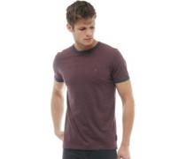 FCUK Ringer T-Shirt Burgunder