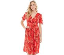 Adrianna Kleid Rot
